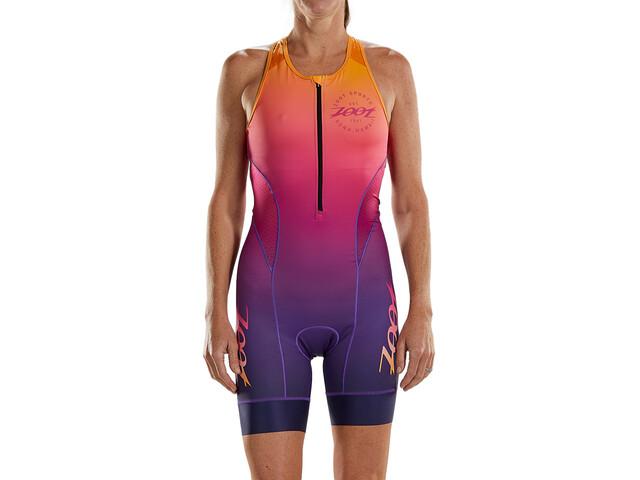 Zoot LTD Traje Triatlón Plus Mujer, rosa/naranja